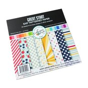 Great Start Patterned Paper - Catherine Pooler