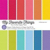 Poppin' Polka Dots Paper Pad - My Favorite Things