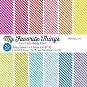 Stripe Splash Paper Pad - My Favorite Things