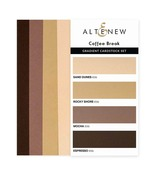 Coffee Break - Gradient Cardstock Set - Altenew