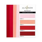 Red Sunset - Gradient Cardstock Set - Altenew