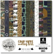 Camp More, Worry Less 12x12 Paper Pack - Wild Whisper Designs - PRE ORDER