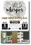 Camp More, Worry Less Card Pack - Wild Whisper Designs
