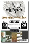 Camp More, Worry Less DOUBLE Card Pack - Wild Whisper Designs