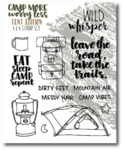 Tents Stamp Set - Camp More, Worry Less - Wild Whisper Designs