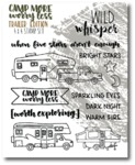 Trailers Stamp Set - Camp More, Worry Less - Wild Whisper Designs