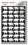 Bear Stencil - Camp More, Worry Less - Wild Whisper Designs