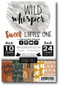 Sweet Little One DOUBLE Card Pack - Wild Whisper Designs - PRE ORDER