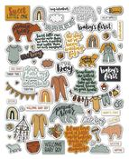 Baby Boy Ephemera - Sweet Little One - Wild Whisper Designs - PRE ORDER