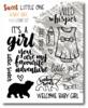 Baby Girl Stamp Set - Sweet Little One - Wild Whisper Designs