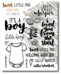 Baby Boy Stamp Set - Sweet Little One - Wild Whisper Designs