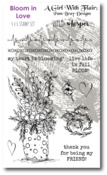 Bloom In Love Stamp Set - Pam Bray - Wild Whisper Designs - PRE ORDER
