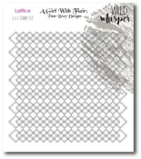 Lattice Background Stamp - Pam Bray - Wild Whisper Designs - PRE ORDER