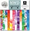 Ledger & Script 12x12 Paper Pack - Wild Whisper Designs
