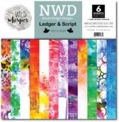 Ledger & Script 12x12 Paper Pack - Wild Whisper Designs - PRE ORDER
