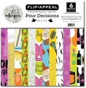 Pour Decisions 12x12 Paper Pack - Wild Whisper Designs - PRE ORDER