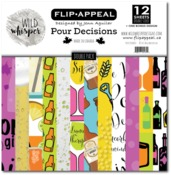 Pour Decisions DOUBLE 12x12 Paper Pack - Wild Whisper Designs - PRE ORDER