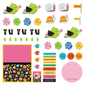 Pre-Colored Dies Paper - Snail Mail - Photoplay - PRE ORDER