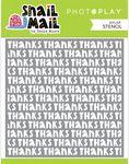 Snail Mail Stencil - Photoplay