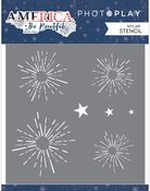 Stencil Firework - America The Beautiful - Photoplay - PRE ORDER