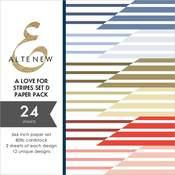 A Love for Stripes Set D 6x6 Paper Pack - Altenew