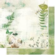 Boscage Paper - Vintage Artistry Hike More - 49 And Market