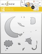 Dreamy Cat Simple Coloring Stencil - Altenew