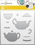 Tea for Two Simple Coloring Stencil - Altenew