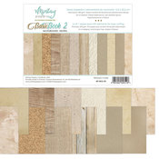 Neutral Backgrounds 6x8 Paper Pad - Mintay Papers