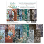 Grunge Backgrounds 6x8 Paper Pad - Mintay Papers