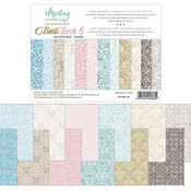 Damask Backgrounds 6x8 Paper Pad - Mintay Papers