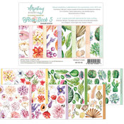 Flora Book 5 Elements 6x8 Paper Pad - Mintay Papers