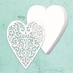 Heart Chipboard Album Base - Mintay Chippies - Mintay Papers