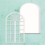 Window Chipboard Album Base - Mintay Chippies - Mintay Papers