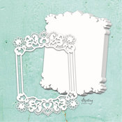 Frame Chipboard Album Base - Mintay Chippies - Mintay Papers