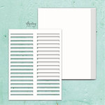 Shutters Chipboard Album Base - Mintay Chippies - Mintay Papers