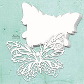 Butterfly Chipboard Album Base - Mintay Chippies - Mintay Papers