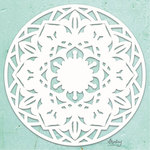 Mandala Chipboard Diecut - Mintay Chippies - Mintay Papers