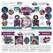 Nightfall 12x12 Cardboard Stickers - Mintay Papers