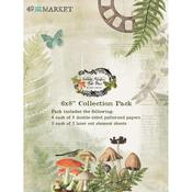Vintage Artistry Hike More 6x8 Collection Pack - 49 And Market
