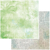 Palm Paper - Vintage Artistry Beached - 49 And Market - PRE ORDER