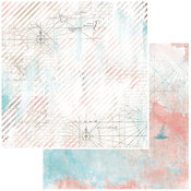 Cartography Paper - Vintage Artistry Beached - 49 And Market - PRE ORDER