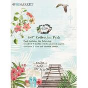 Vintage Artistry Beached 6x8 Collection Pack - 49 And Market - PRE ORDER