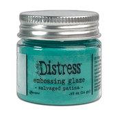 Salvaged Patina Distress Embossing Glaze - Tim Holtz