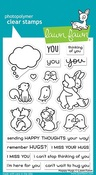 Happy Hugs Clear Stamps - Lawn Fawn