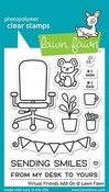 Virtual Friends Add-on Clear Stamps - Lawn Fawn
