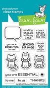 Say What? Masked Critters Stamps - Lawn Fawn