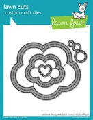 Stitched Thought Bubble Frames Dies - Lawn Fawn