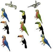 Tropical Bird Shape Brads - Eyelet Outlet