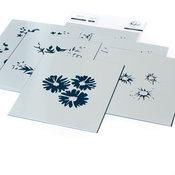 Floral Bunch Layering Stencil Set - Pinkfresh Studio - PRE ORDER